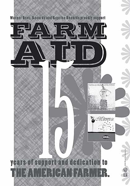 Farm Aid Tribute Ad